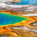 Jezioro w Wyoming