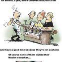 Ateista, Żyd i Chrześcijanin wchodzą do baru...