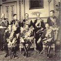 9 królów na zamku Windsorskim 1910