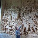Rzeźba Bitwy pod Grunwaldem