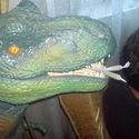 Zielony Dinozaur :)