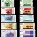 nowe banknoty norwegia