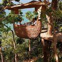 drzewna restauracja - Tajlandia