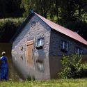 Zatopiony dom