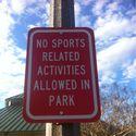 Zakaz sportu