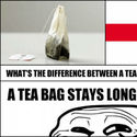 difference between england and tea