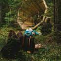 Głośniki w lesie ;)