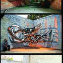 Trójwymiarowe graffiti z Portugalii robią tak!