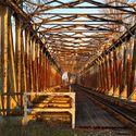 Zabytkowy most kolejowy Czernica/Kotowice