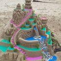 Zamek z piasku.