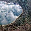 jezioro w stanie Oregon, naturalne lustro