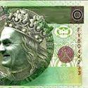 Nowy banknot w obiegu.