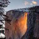 Horsetail Fall at Yosemite National Park