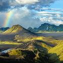 Tęcza na Islandii