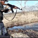 Jak się robi tęczę przy pomocy AK47.
