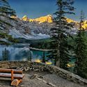 Kanada Maligne Lake