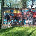 Wisła Kraków Graffiti Moje Okolice