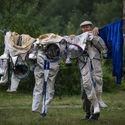 Fota z centrum szkolenia kosmonautów w Rosji