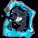 Bora Bora z kosmosu