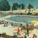 Kompleks basenowy z widokiem - Gdynia lata 60