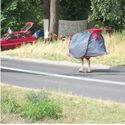 Człowiek namiot