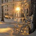 Piękna zima.
