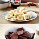 Hmmm... banany w czekoladzie?? slodko! : D