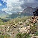 Khinalug valley, Azerbaijan.