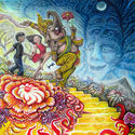 together well escape so take my hand and let us fly to shpongleland