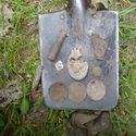 Znalezione wykrywaczem ;) Niemiecka odznaka 2 wojny światowej itp