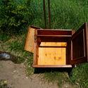 Renowacja Eklektycznej szafki nocnej (nakastlik)