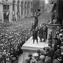 Charlie Chaplin, Nowy Jork - 1918.
