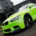 BMW M3 zielone :)