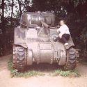 Babcia na czołgu