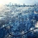Nowy Jork zimą.