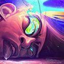 Psychedelic Crash Face