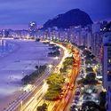 Rio De Janeiro - Plaża w Nocy