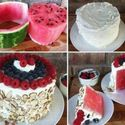 Arbuzowy tort.