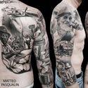 Wie ktoś może co to za postacie na tym tatoo ?