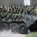 BTR-80 z najnowszym pancerzem reaktywnym