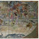 obraz z kawałków banknotów