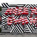 ** Nietypowy street art !