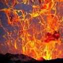 Erupcja.