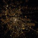 Warszawa z ISS.