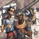 Mordecai i Roland :D