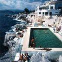 Hotel du Cap Eden-Roc w Antibes na Lazurowym Wybrzeżu, 1976 rok.