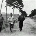 Ujęcie z maratonu na pierwszych IO (Ateny 1896)