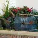 mała domowa fontanna